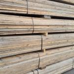 Steigerhout gebruikt ongeschuurd