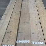 Steigerplanken gebruikt