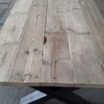 Steigerhout eetafel